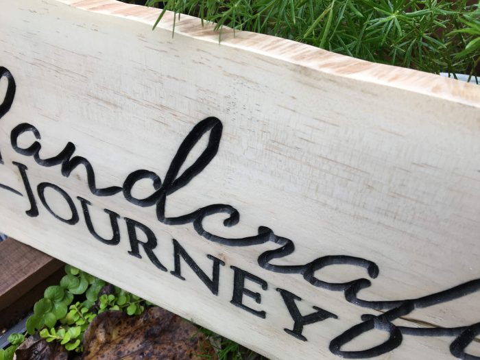 How to Carve Your Own Wooden Sign with a Router - theprojectlady.com