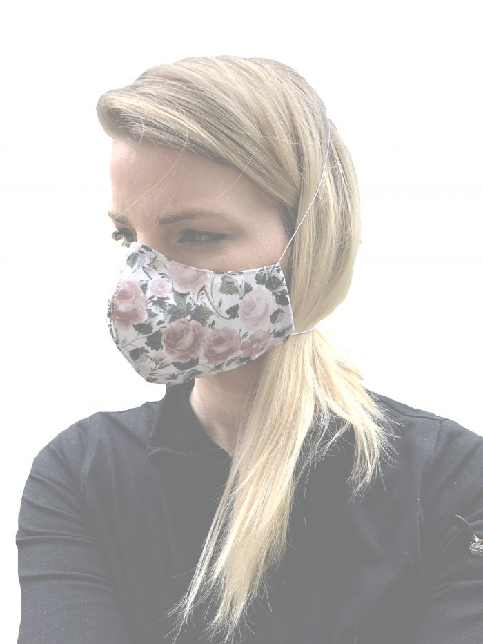 Cotton Face Mask - Front View
